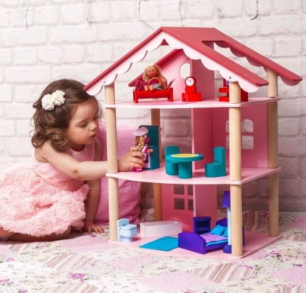 Кукольный домик Paremo Роза Хутор