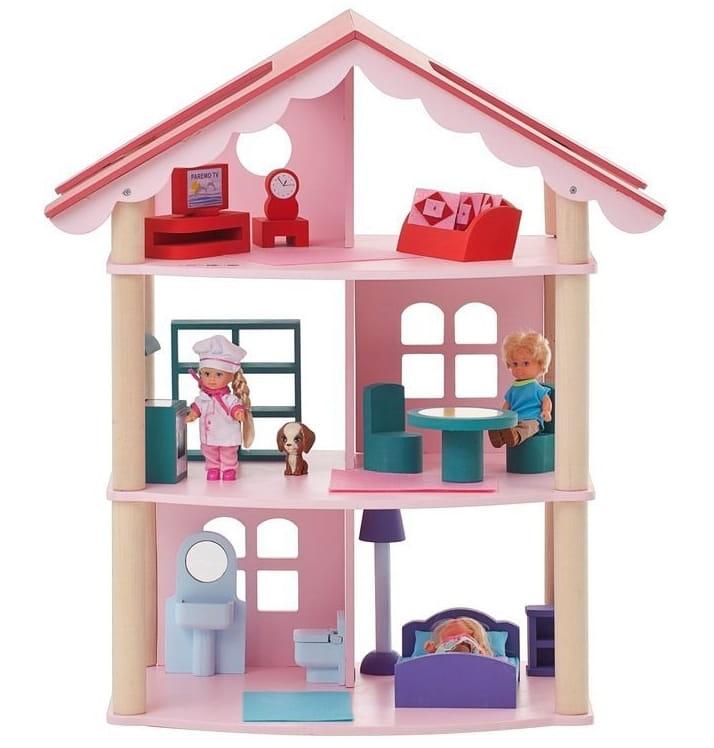 Кукольный домик Paremo PD215 Роза Хутор