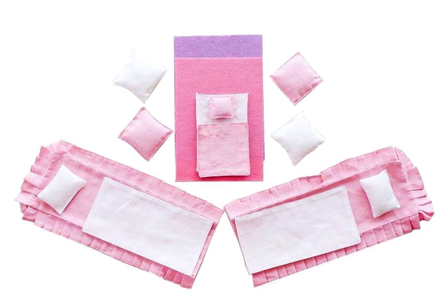 Набор текстиля для розовых домиков Paremo PDA315 Вдохновение и Муза