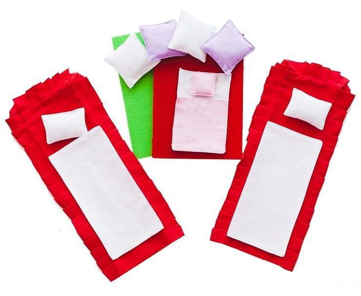 Набор текстиля для бежевых домиков Paremo PDA315-01 Шарм и Грация