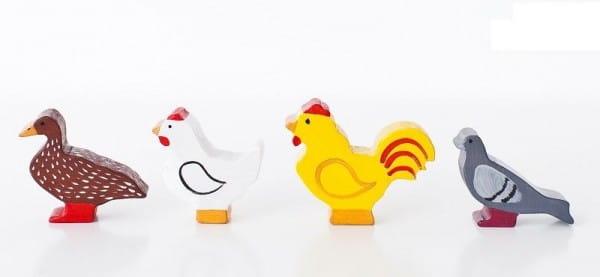 Игровой набор Paremo Птицы - 5 фигурок