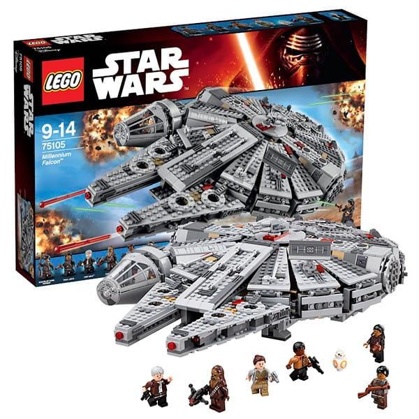 Купить Конструктор Lego Star Wars Лего Звездные войны Сокол Тысячелетия в интернет магазине игрушек и детских товаров