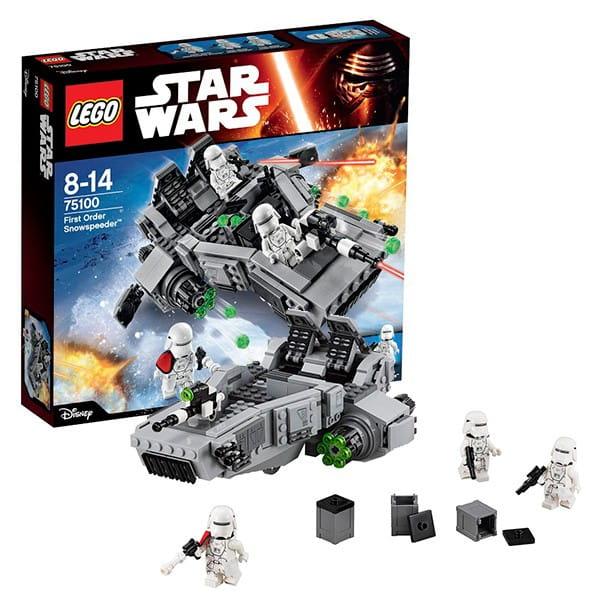 Конструктор Lego 75100 Star Wars Лего Звездные войны Снежный спидер Первого Ордена