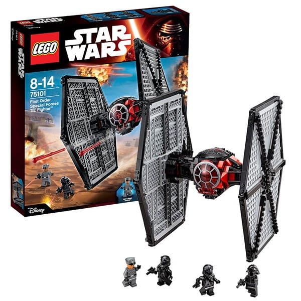 Конструктор Lego 75101 Star Wars Лего Звездные войны Истребитель особых войск Первого Ордена
