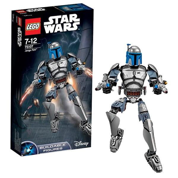 Конструктор Lego 75107 Star Wars Лего Звездные войны Джанго Фетт