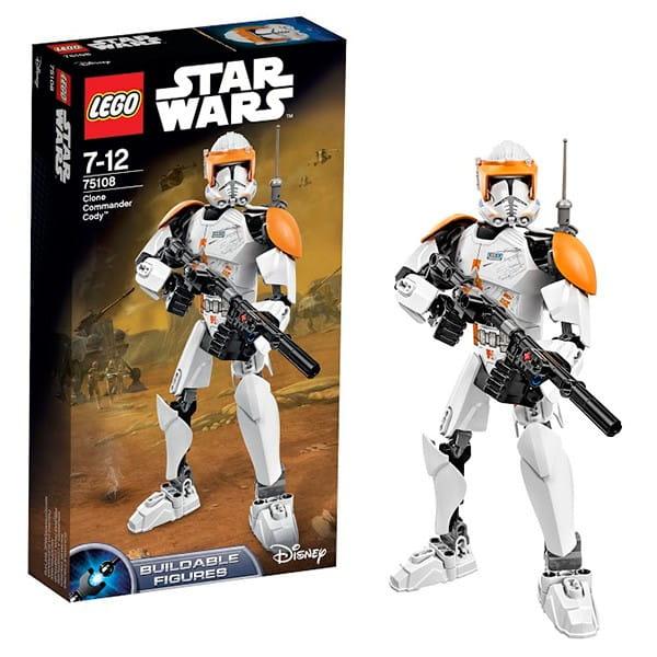 Конструктор Lego Star Wars Лего Звездные войны Клон-коммандер Коди
