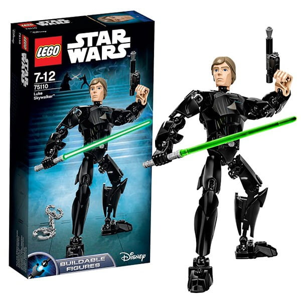 Конструктор Lego Star Wars Лего Звездные войны Люк Скайуокер