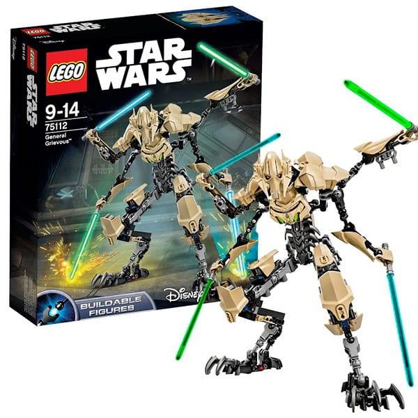 Конструктор Lego Star Wars Лего Звездные войны Генерал Гривус
