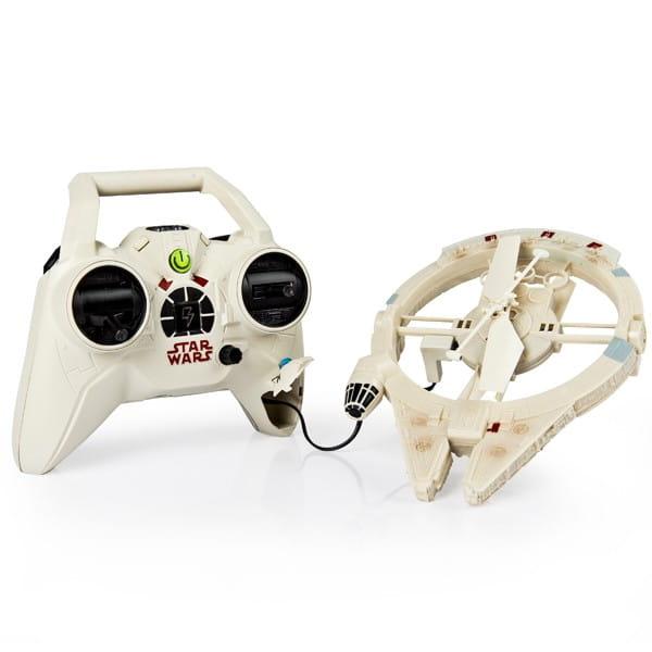 Купить Радиоуправляемая игрушка Air Hogs Летающий Сокол тысячелетия (Звездные войны Star Wars) в интернет магазине игрушек и детских товаров