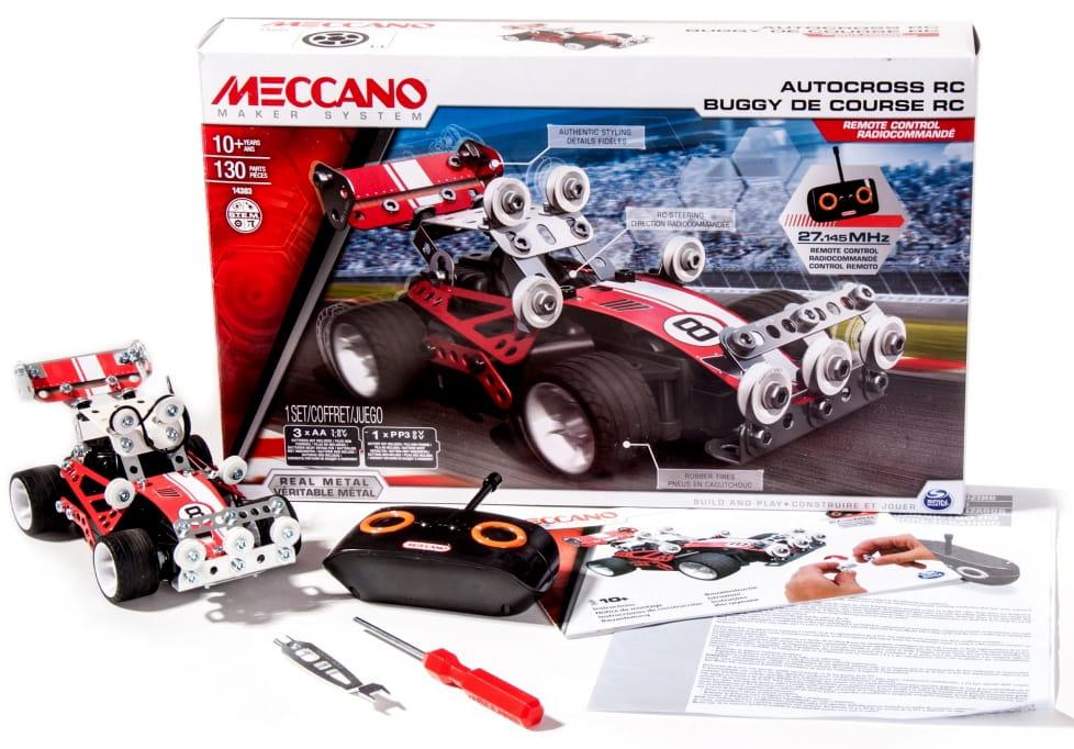 Конструктор Meccano 91780 Гоночная машина на радиоуправлении - 2 модели