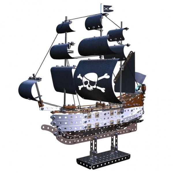 Купить Металлический конструктор Meccano Пиратский корабль в интернет магазине игрушек и детских товаров