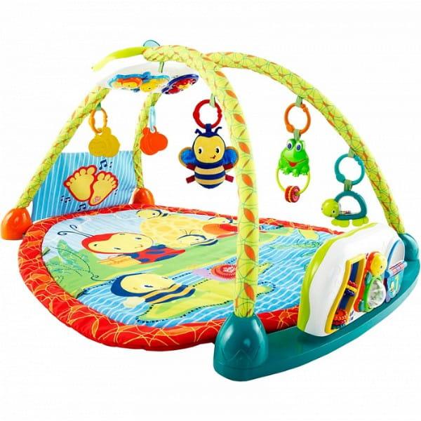 Купить Развивающий коврик с игровой панелью-столиком Bright Starts Чудесное озеро 2 в 1 в интернет магазине игрушек и детских товаров