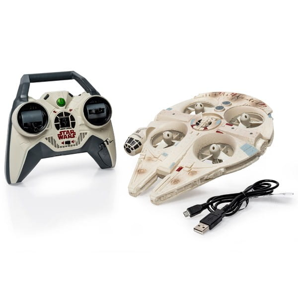 Купить Радиоуправляемая игрушка Air Hogs Сокол тысячелетия в виде квадрокоптера (Звездные войны Star Wars) в интернет магазине игрушек и детских товаров