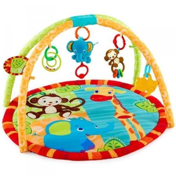 Купить Развивающий коврик Bright Starts Друзья жирафа в интернет магазине игрушек и детских товаров