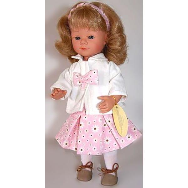 Кукла Carmen Gonzalez Мариэтта - 34 см (в розовой юбке и белом пиджаке)