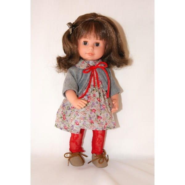 Кукла Carmen Gonzalez Мариэтта - 34 см (в трикотажном болеро и ажурных колготках)