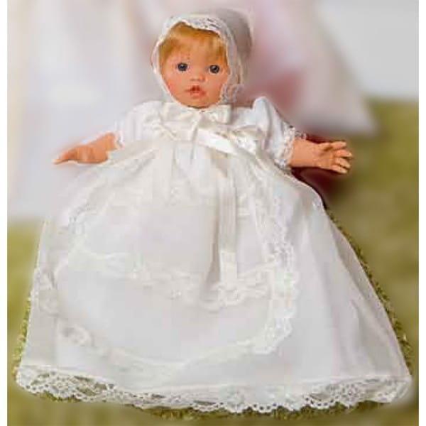 Кукла Carmen Gonzalez 52003 Мончи - 34 см (в крестильном платье)