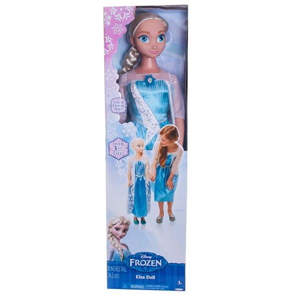 Купить Кукла Disney Princess Принцессы Дисней Эльза - 99 см в интернет магазине игрушек и детских товаров