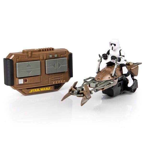 Радиоуправляемая машинка Air Hogs Скоростной байк (Звездные войны Star Wars)