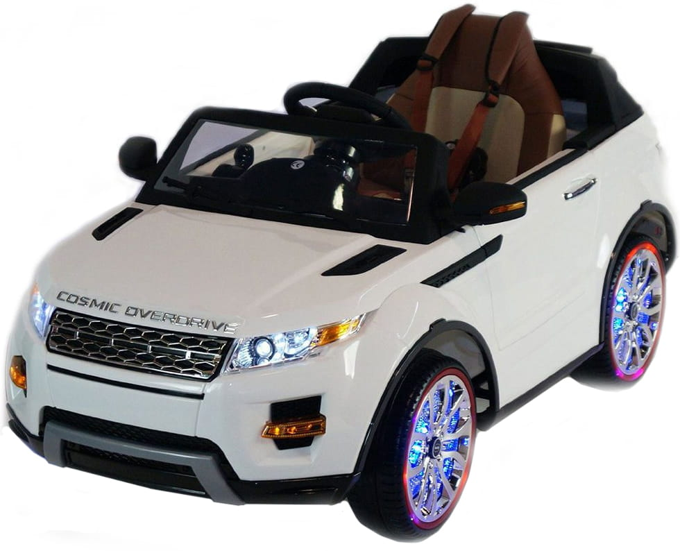 Электромобиль с дистанционным управлением River Toys Range Rover A111AA VIP (с резиновыми колесами)