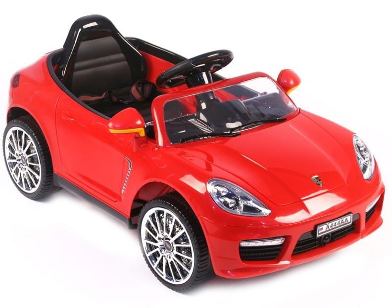 Электромобиль с дистанционным управлением River Toys Porsche Panamera А444АА (с кожаным сиденьем)