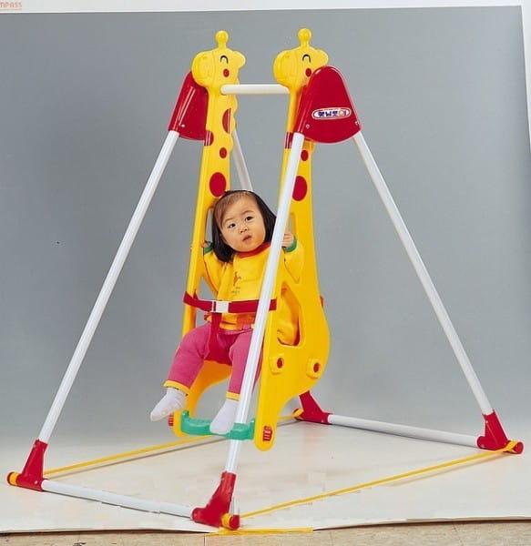 Купить Качели Haenim Toy Жираф в интернет магазине игрушек и детских товаров