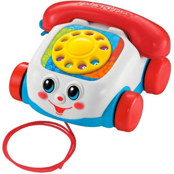 Купить Телефон на веревочке Fisher Price (Mattel) в интернет магазине игрушек и детских товаров