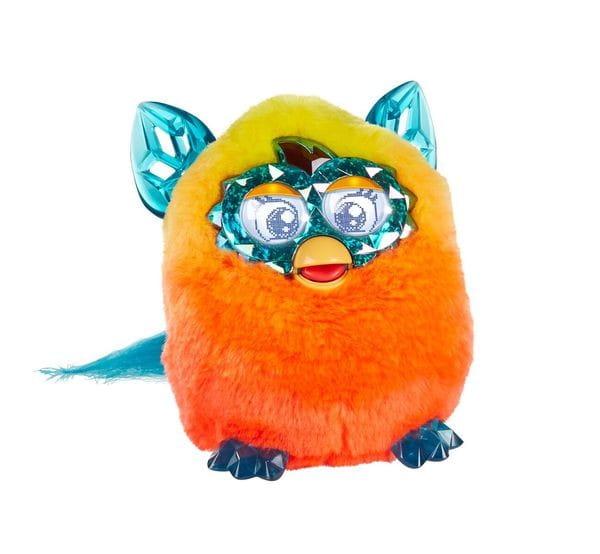 Купить Интерактивная игрушка Furby Boom Ферби Бум Кристалл Оранжевый (Hasbro) в интернет магазине игрушек и детских товаров