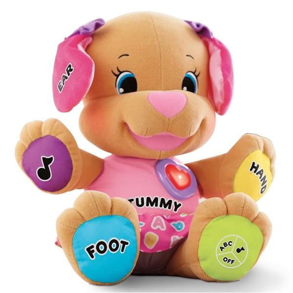 Купить Сестричка Ученого щенка Смейся и учись Fisher Price (Mattel) в интернет магазине игрушек и детских товаров