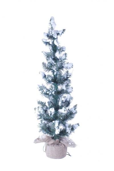 Купить Искусственная сосна Crystal Trees Касуми заснеженная - 90 см в интернет магазине игрушек и детских товаров