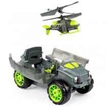 Радиоуправляемая игрушка Air Hogs Транспортная бронемашина с вертолетом-разведчиком
