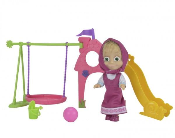 Игровой набор Маша и Медведь Маша с игровой площадкой (Simba)