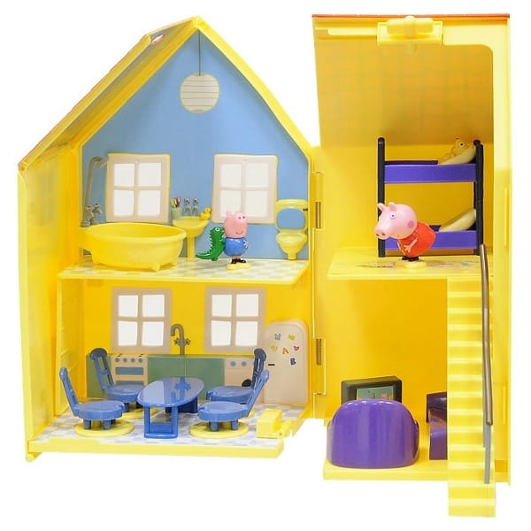 Игровой набор Peppa Pig Дом Пеппы Deluxe