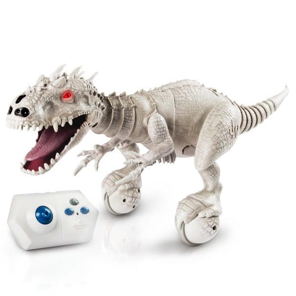 Купить Интерактивный динозавр Dino Zoomer Парк юрского периода (Spin Master) в интернет магазине игрушек и детских товаров