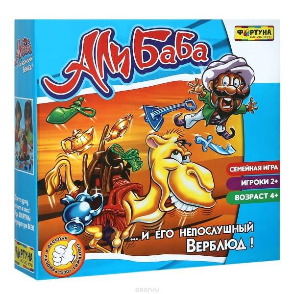 Настольная игра Фортуна Ф51233 Али-Баба и непослушный верблюд