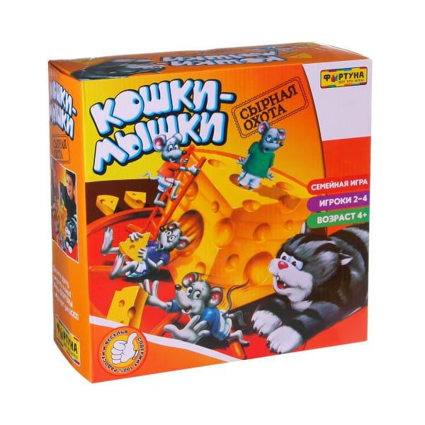 Настольная игра Фортуна Ф51238 Кошки-мышки (сырная погоня)