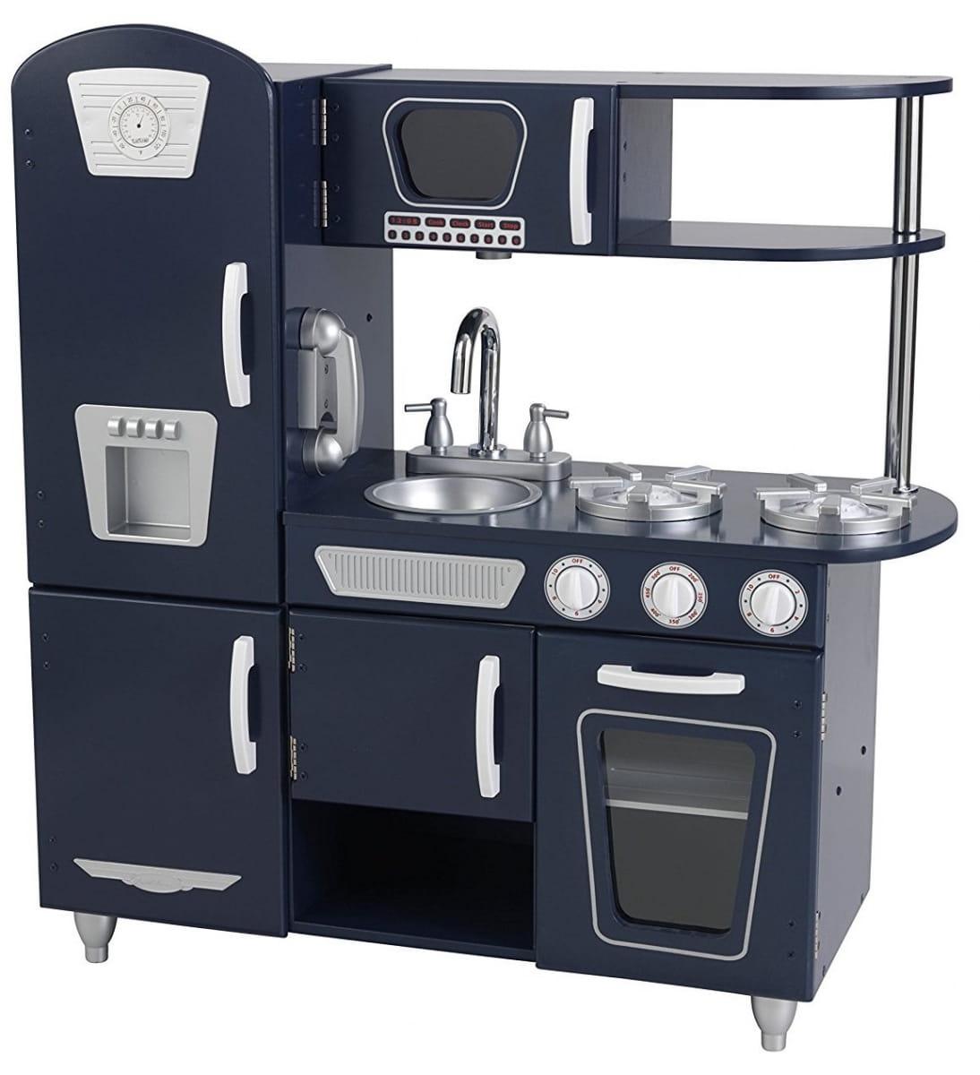 Детская кухня Kidkraft Винтаж Vintage (синяя)