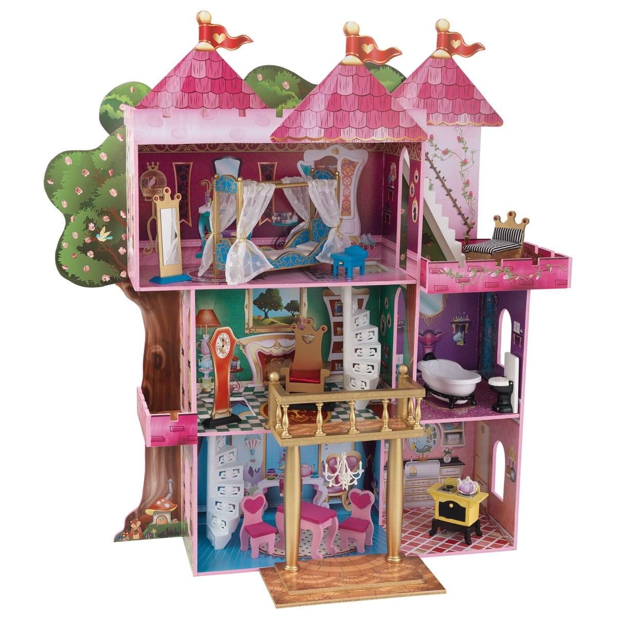 Кукольный домик с мебелью Kidkraft Книга сказок