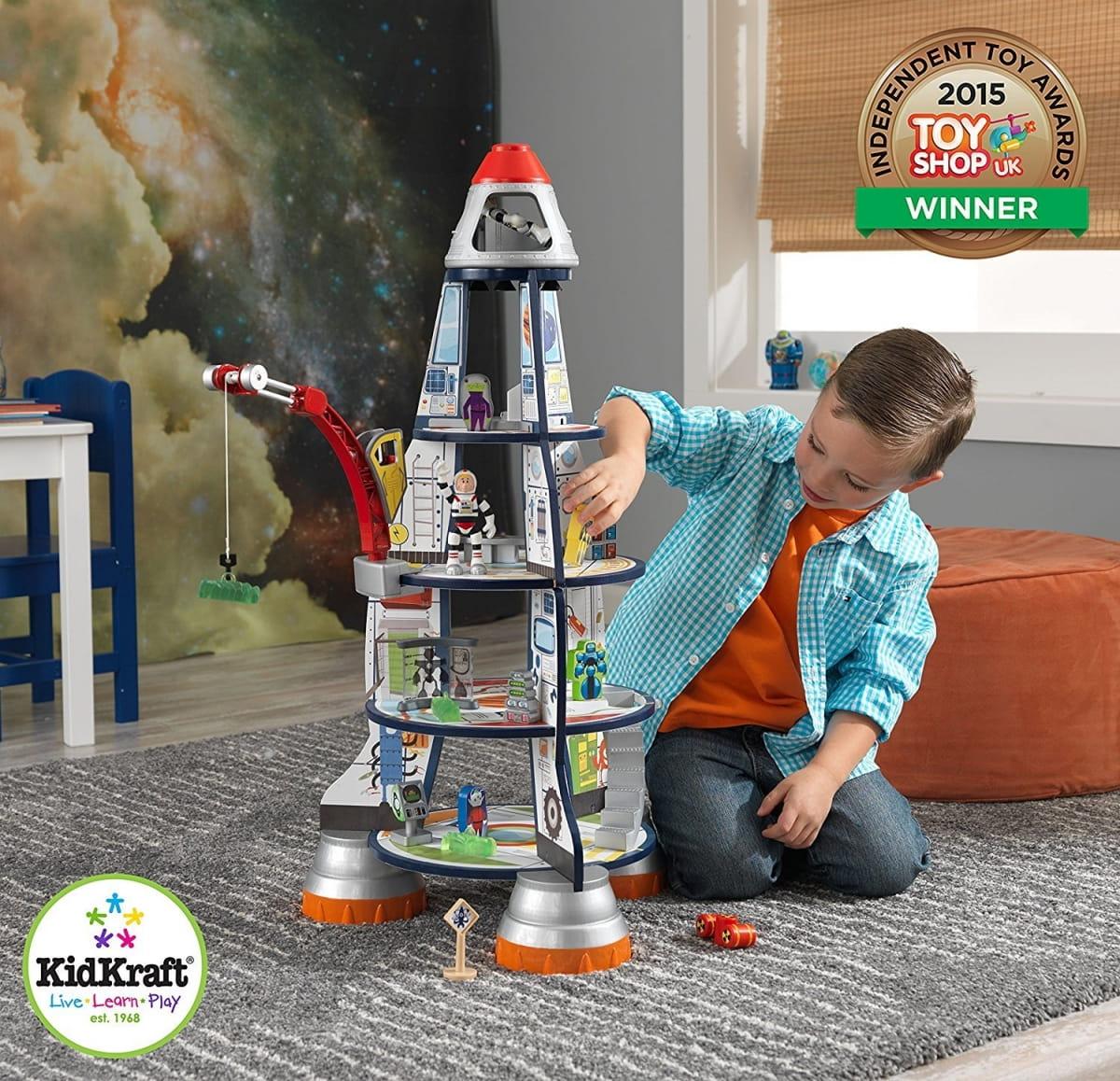 Купить Игровой набор для мальчиков Kidkraft Космический корабль в интернет магазине игрушек и детских товаров