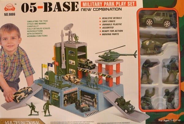 Игровой набор Toys Hld Военная база