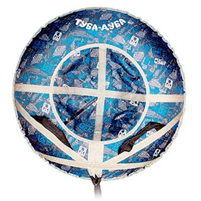 Купить Ватрушка-тюбинг Туба-Дуба Т-88 Н - синий в интернет магазине игрушек и детских товаров
