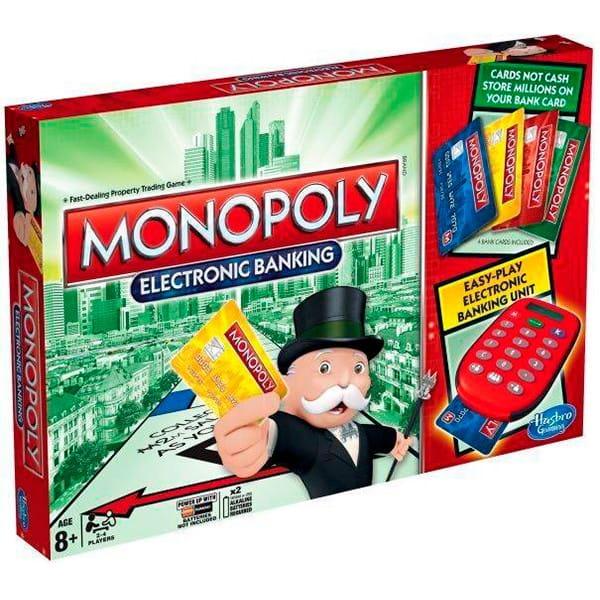 Купить Настольная игра Hasbro Монополия с банковскими карточками (new) в интернет магазине игрушек и детских товаров