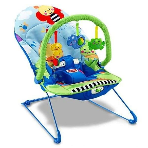 Купить Укачивающие качели для детей Fisher Price (Mattel) в интернет магазине игрушек и детских товаров