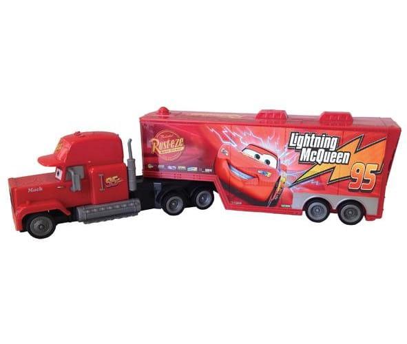 Купить Инерционный грузовик Yellow Маккуин в интернет магазине игрушек и детских товаров