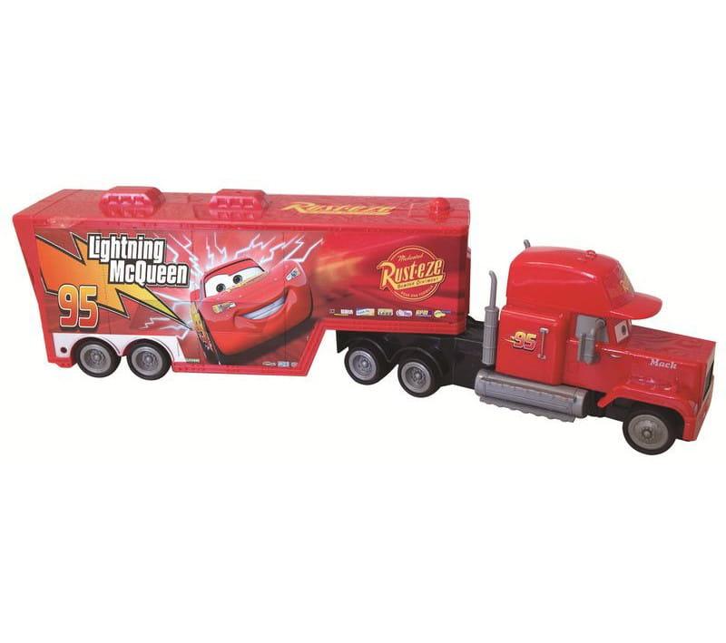 Инерционный грузовик Yellow 2459 Маккуин