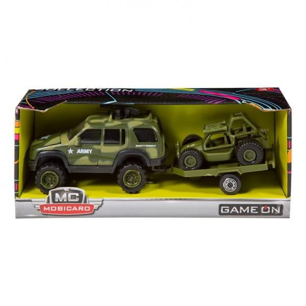 Купить Военный внедорожник с багги Soma - 12 см в интернет магазине игрушек и детских товаров