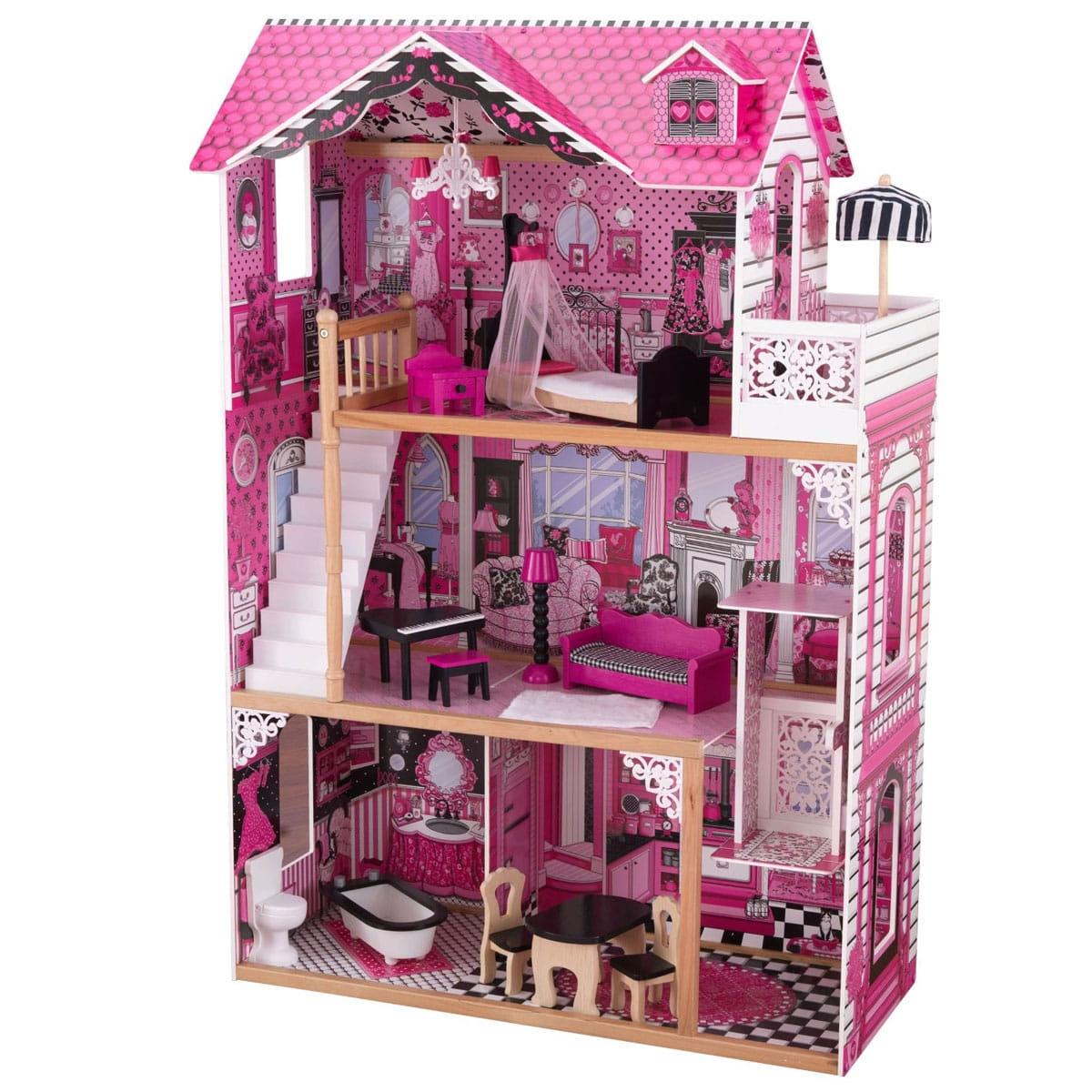 Кукольный домик с мебелью KIDKRAFT Амелия