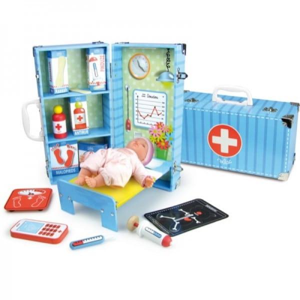 Купить Игровой набор Vilac Доктор (12 элементов) в интернет магазине игрушек и детских товаров