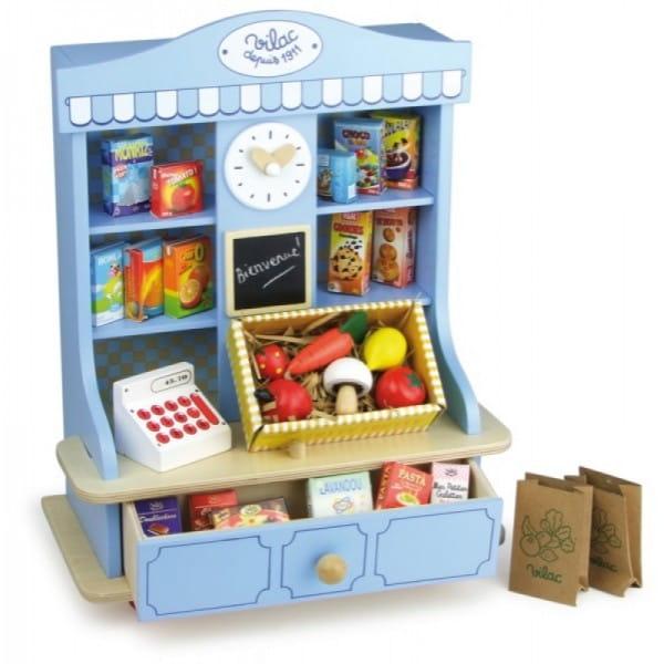 Купить Игровой набор Vilac Продуктовый магазин (27 элементов) в интернет магазине игрушек и детских товаров