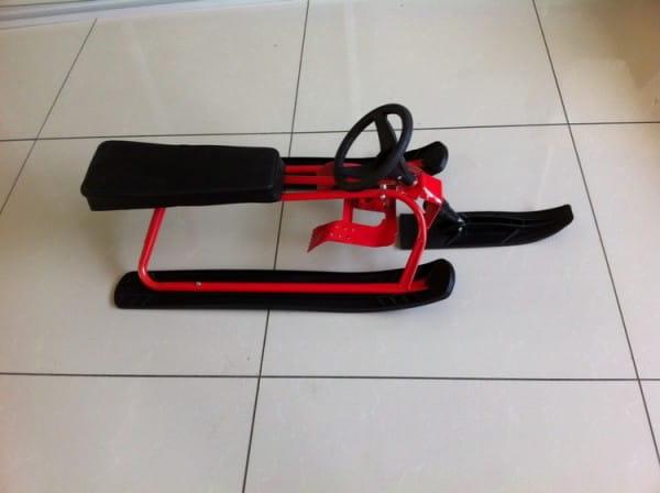 Купить Снегокат River Toys - красный в интернет магазине игрушек и детских товаров